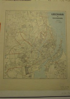 Cycle Track Network 1916 in Copenhagen and Frederiksberg