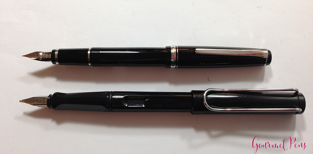 Review Pilot Elabo Fountain Pen - Soft Extra-Fine @JetPens @PilotPenUSA (5)