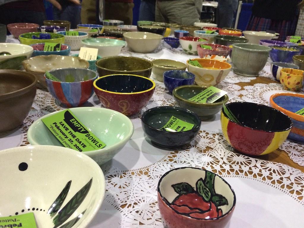Empty Bowls Mon
