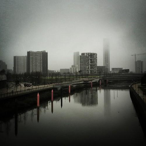 Vista di Stratford, Londra