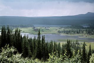 Lake Dabbsjön, Dorotea, Lappland, Sweden