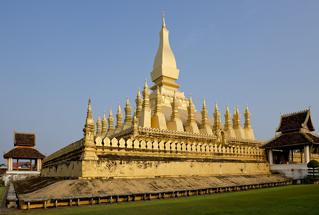 LAO099 Pha That Luang - Vientiane 03 - Laos