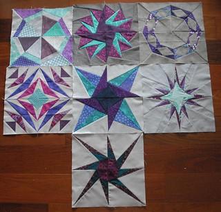 Round 1 Blocks - including my test block