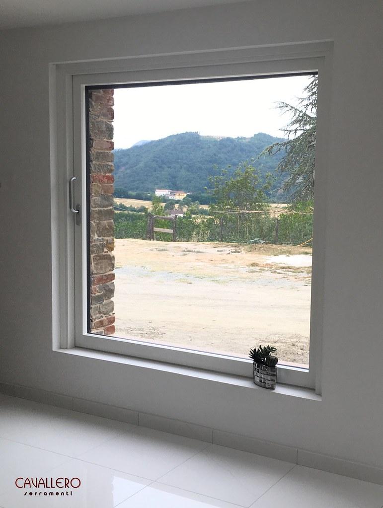 Finestre in legno tutte le foto - Porta finestra scorrevole esterna ...