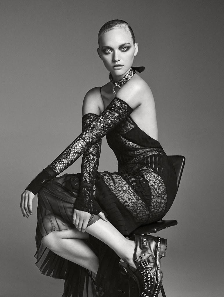 Джемма Уорд — Фотосессия для «Elle» AU 2016 – 13