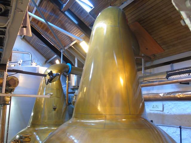 Balblair distillery, stills