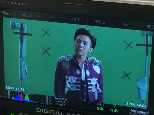 G-Dragon - Tower of Saviors - 2014 - BTS - 04