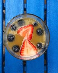 Mimosa + hot tub time 🍓 #napawewill