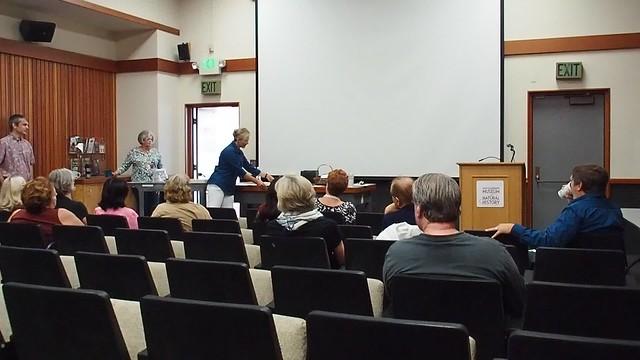PA032711 SBMNH docent training Kristen talk