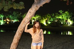 Sentosa beach. Looking for coffee bean. #palawan #sg2k16