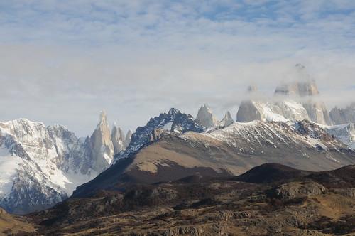 Cloudy day at Fitz Roy peak, El Chalten, Argentina (Explored 25/11/2014)