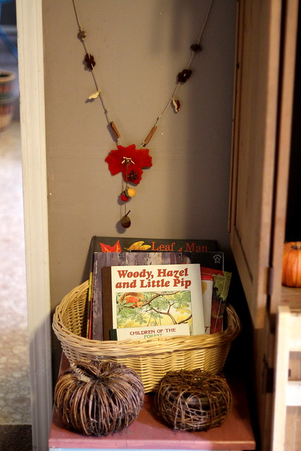 Autumn Book Basket 2