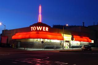 TOWER MARKET - SAN FRANCISCO, CALIFORNIA - December 28, 2014