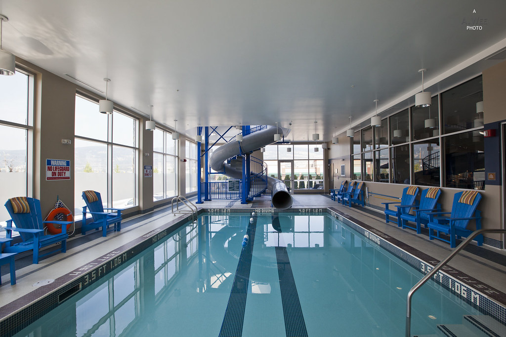 Indoor Swimming Pool with Slide