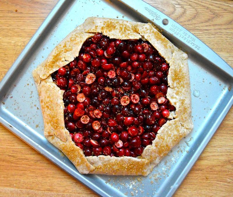 Cranberry Galette