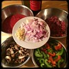 Tonite on #CucinaDelloZio #Homemade #PepperSteak - ingredients