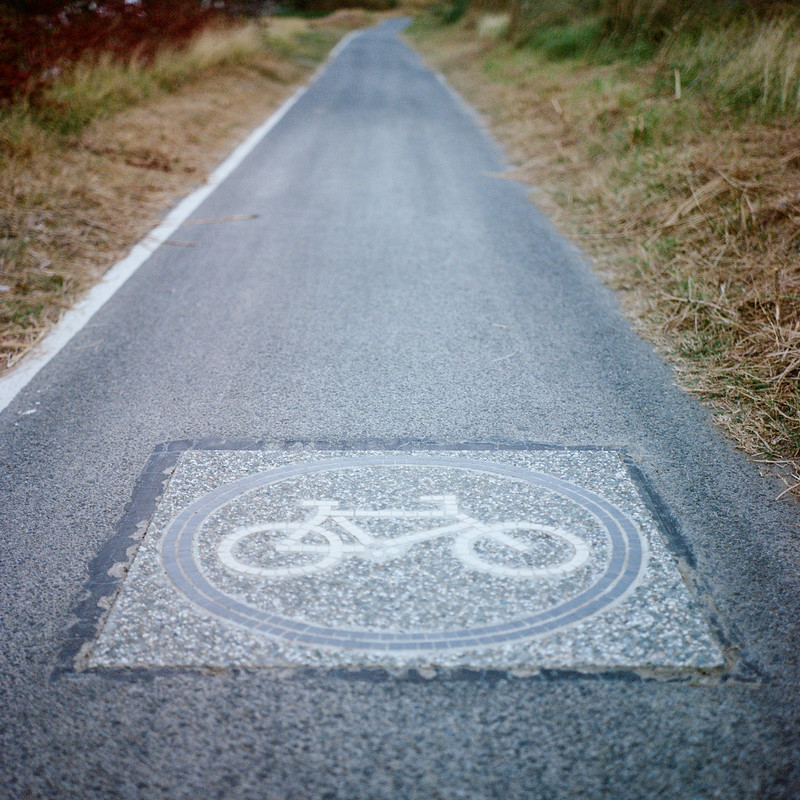 The Road (by Rolleiflex 2.8F)