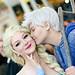 Comikaze 2014: Elsa and Jack Frost
