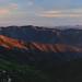 Sunset from Santiago Peak by Alejandro Rdguez