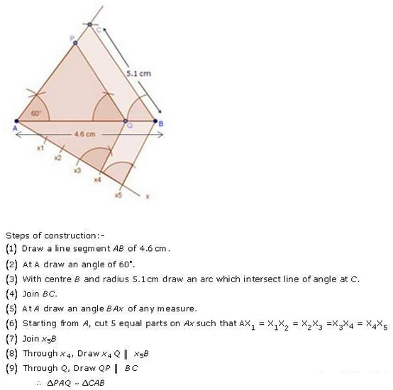 RD-Sharma-class 10-Solutions-Chapter-11-constructions-Ex 11.2 Q11