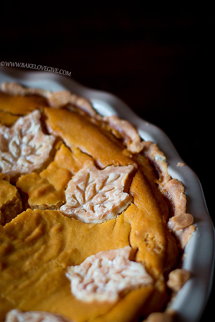 Fluffly Pumpkin Pie recipe