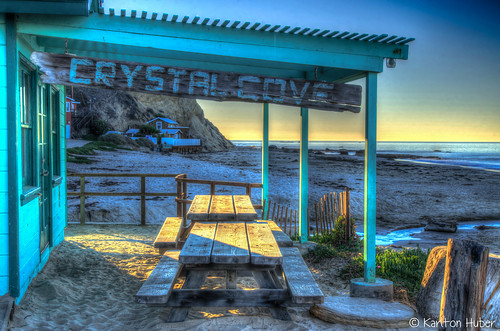 ocean california light seascape beach sign horizontal creek sunrise fence landscape morninglight sand pretty quiet pacific cottage shoreline peaceful crystalcove depthoffield pacificocean frame weathered shack southerncalifornia orangecounty beachfront hdr theoc picnictable 2014 sidelight southcounty landscapephotography weatheredboards creativeperspective creativeeffect nikond7000 karltonhuber