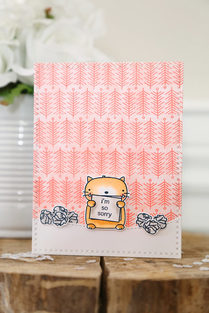 so sorry {mama elephant stamp highlight}