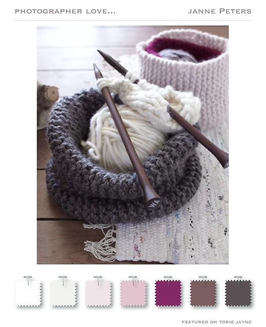 Winter pastels from Janne Peters