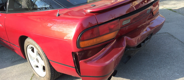 Nissan unfall
