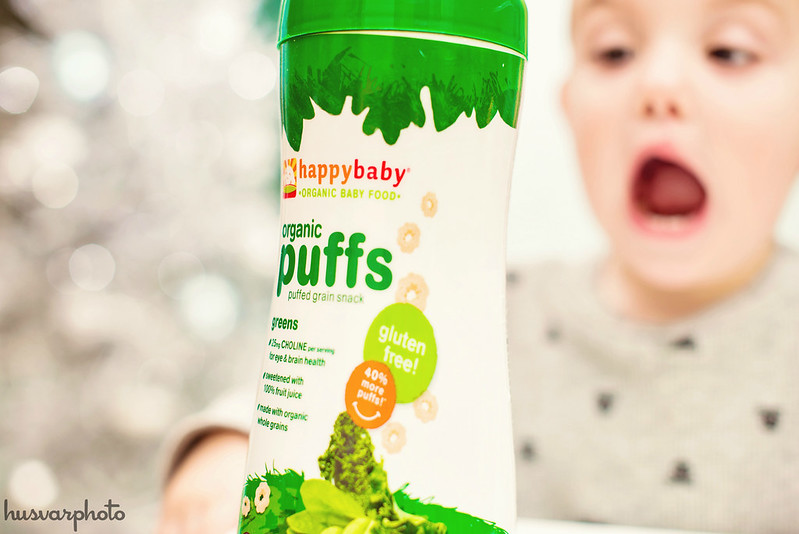 #TistheSqueezin happy baby organic puffs