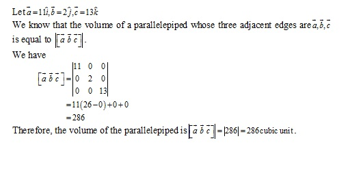 RD Sharma Class 12 Solutions Chapter 26 Scalar Triple Product Ex 26.1 Q3-iii