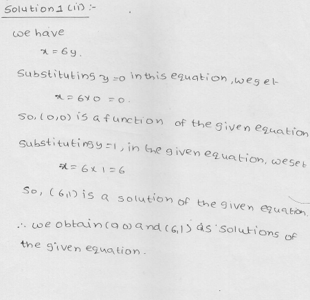RD Sharma Class 9 Solutions Chapter 13 Linear Equations in Two Variables 6.