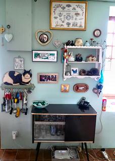 Cocktail Cabinet in Kitchen