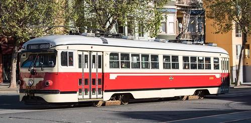 "San Francisco ""Torpedo"" Streetcar"