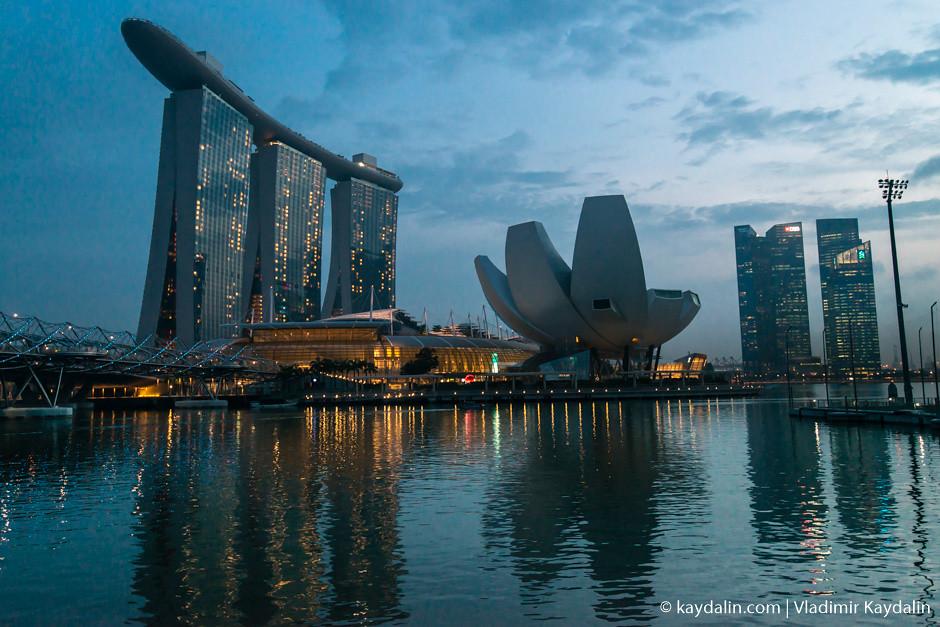 Вечерняя прогулка в Сингапуре, фото