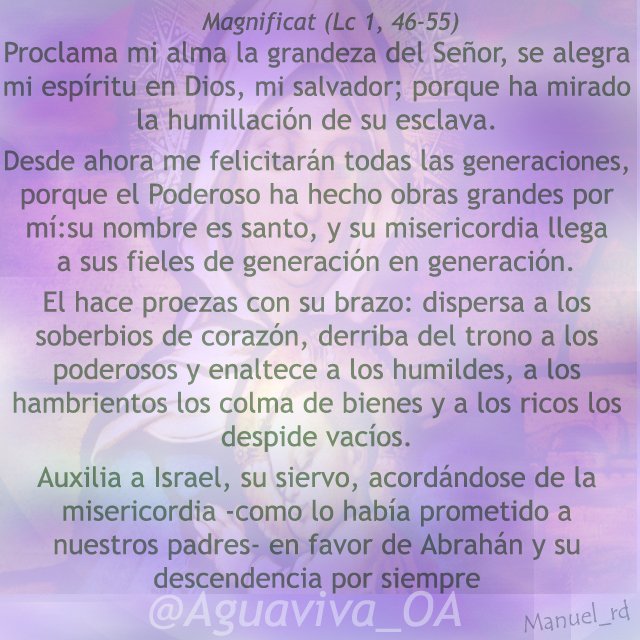 Magnificat (Lc 1, 46-55)