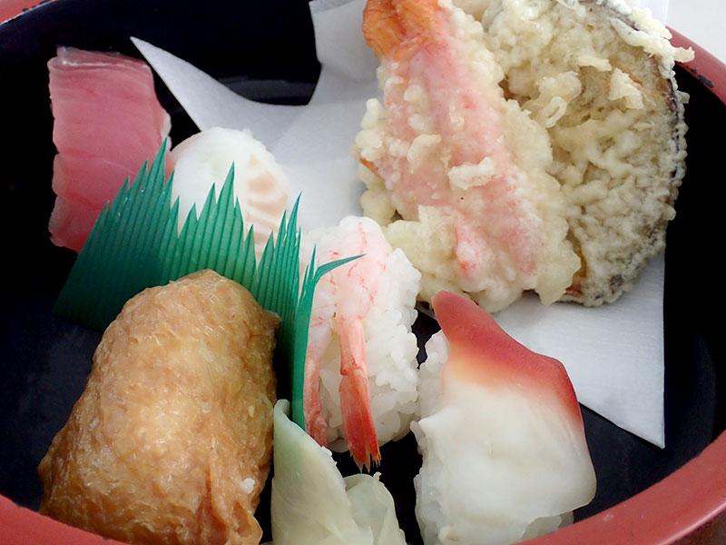 寿司そばセット