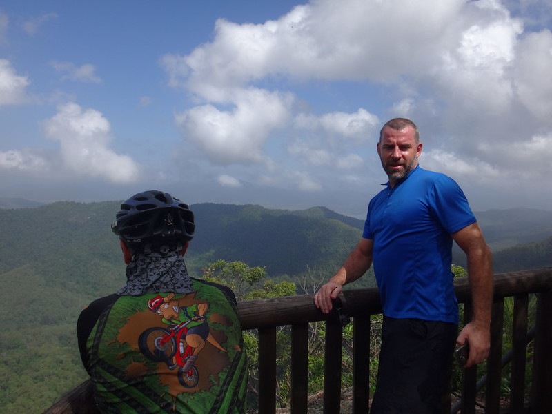 Darb and Rick at Somerset Lookout