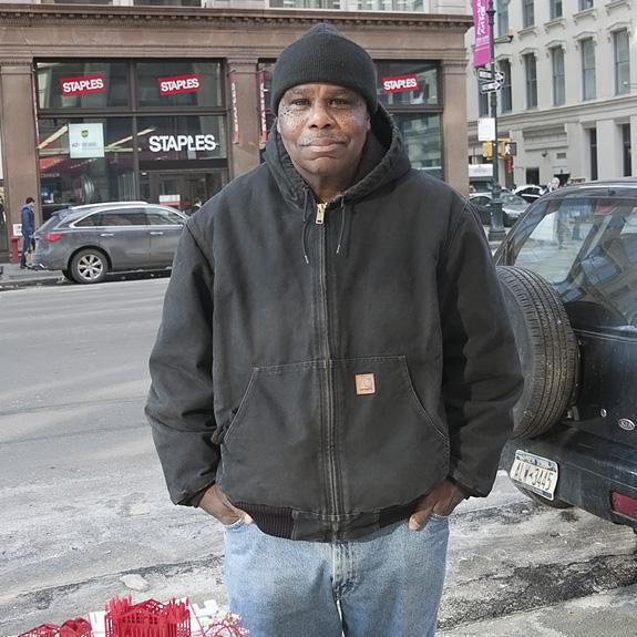 Wayne, Street vendor