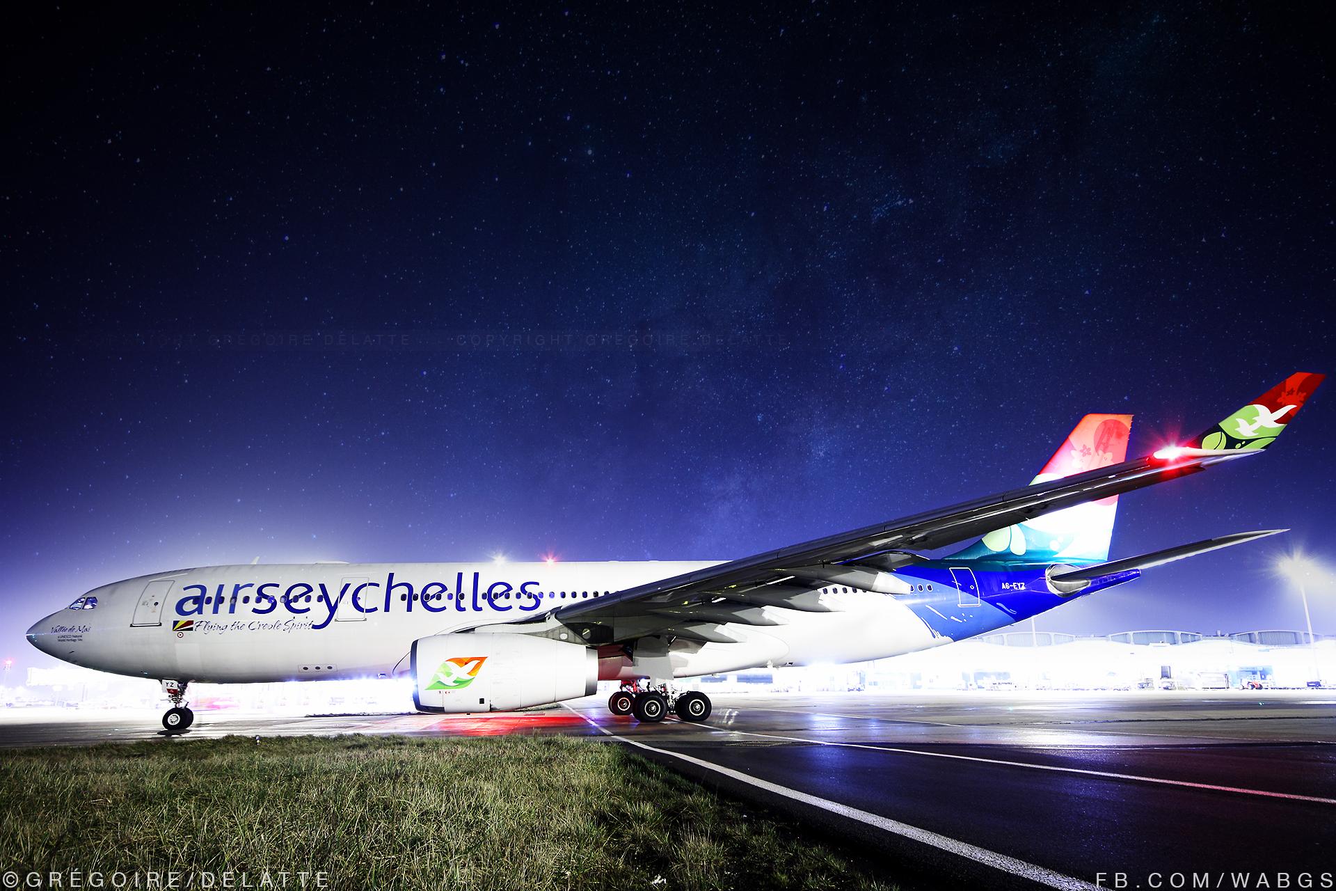 CDG | Airbus A330-200 | Air Seychelles
