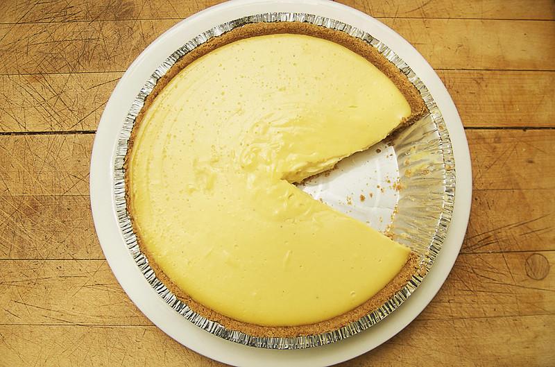 25/365. recipe: eggnog pie.