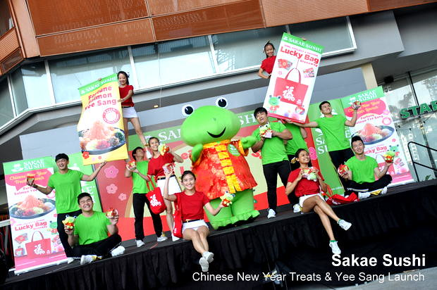 Sakae Sushi Chinese New Year Treats & Yee Sang Launch 6