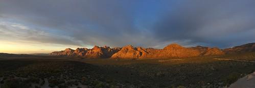 panorama sunrise redrock iphoneography