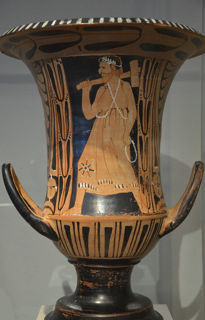 Etruscan red-figured krater with Charun, the Etruscan death demon, from Vulci (Italy), around 300 BC, Altes Museum, Berlin