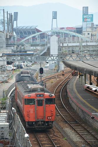 広島駅芸備線のりば
