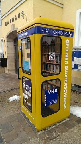 Offener Bücherschrank in Creußen