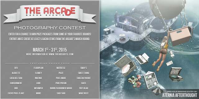 The Arcade Photography Contest - March, 2015