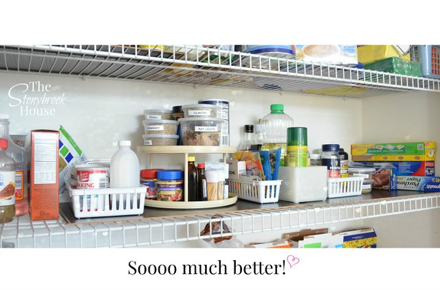 Pantry 'After' Shelf