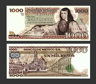 Mexico 1000 Pesos - 1980s