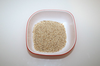 11 - Zutat Sesam-Samen / Ingredient sesame seeds